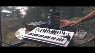 Rainy Day Modular #1 - Moog Mother 32, Minilogue, Volca Sample, Eurorack