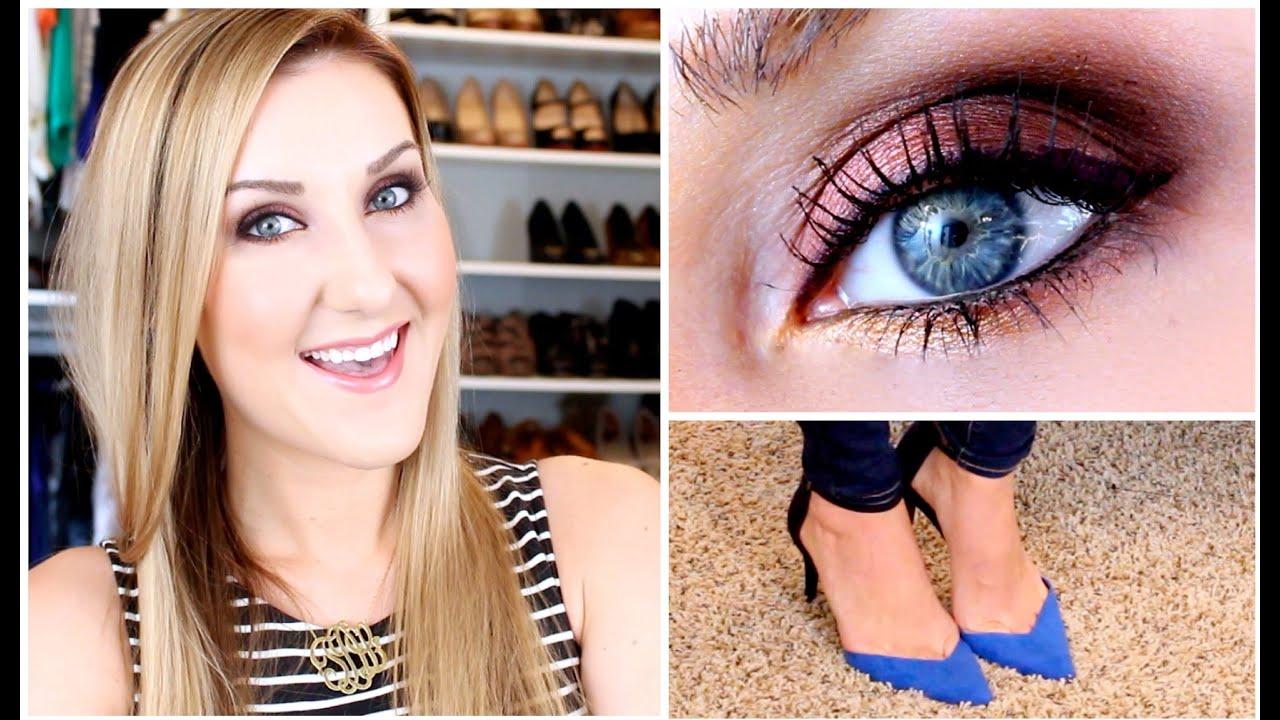 Fall makeup tutorial lorac pro palette ootd youtube baditri Gallery