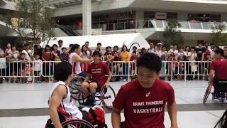 かわさきPARAフェス 2017夏 @ #ラゾーナ川崎 車椅子バスケ「川崎ブレイ...