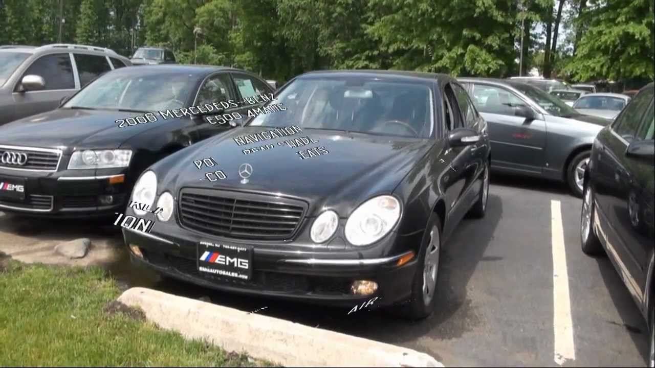 2006 mercedes e500 review