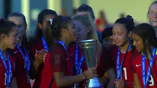 Congratulations to @ussoccer on winning the Concacaf Women's U-17 Championship