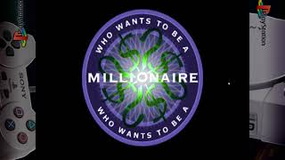 Who Wants To Be A Millionaire: 3rd Edition - Gameplay Footage - PS1/PSX/PSOne - Retroarch 1080p