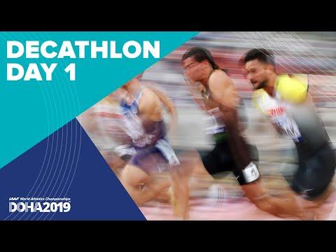 Decathlon Day 1 | World Athletics Championships Doha 2019