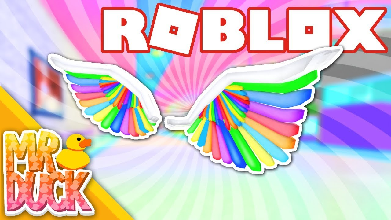 Roblox Rainbow Wings How To Get Rainbow Wings Of Imagination Roblox Imagination Event Ended Youtube
