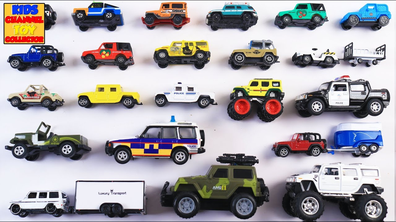 Types Of Jeeps >> Learn Types Of Jeeps Wranglers For Kids Children Toddlers Babies Cars Trucks Vehicle Rhymes