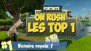 On Rush les top 1 sur (*Fortnite*) [Live Fr Ps4]