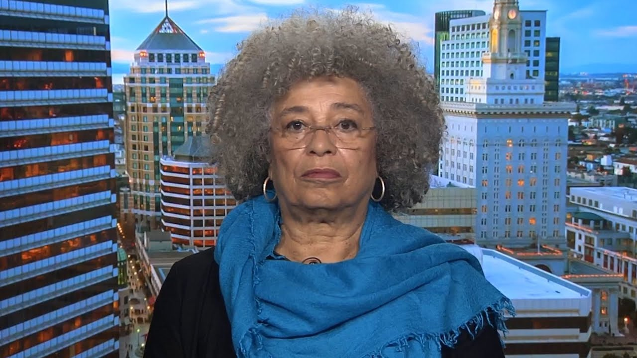 Angela Davis Speaks Out on Palestine | BDS & More After Civil Rights Award Is Revoked