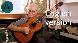 Andrés Segovia's guitar lesson: the different guitar timbres