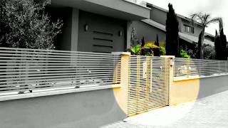 Aluminum Entry Gates | Mulholland Security Los Angeles 1.800.562.5770