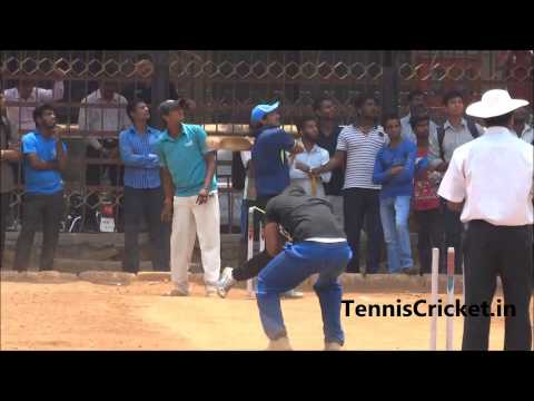 Omkar Desai Batting on Colgate Ground , Mumbai Tennis Cricket