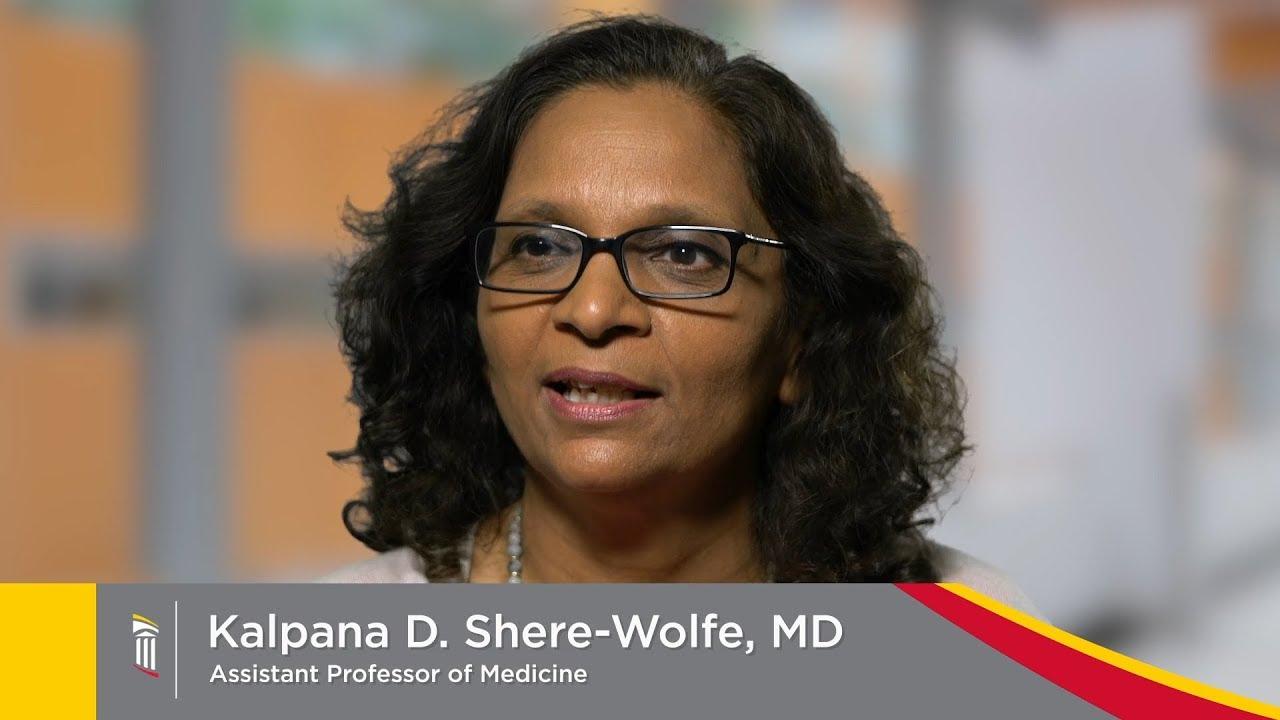 Dr  Kalpana D  Shere-Wolfe, MD - Maryland   University of