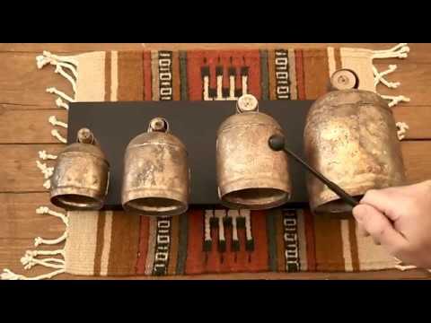 Noah Bells - 4 Bell Set - Tuned to B Flat Minor