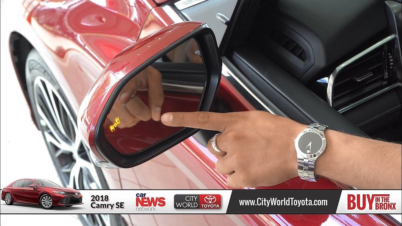 2018 Toyota Camry Se Walk Around City World Bronx Ny White Plains Fordham New Rochelle