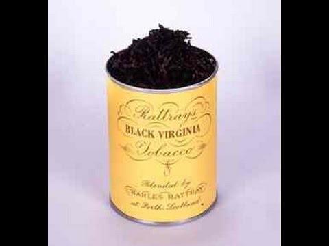 Non canta la raganella e Tabacco Rattray's Black Virginia