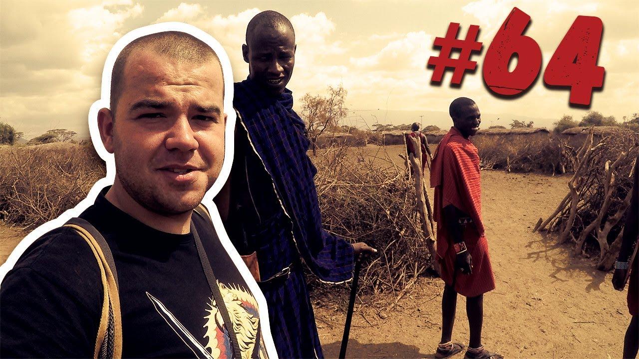 #64 Przez Świat na Fazie – Kenia – Masajowie cz.1