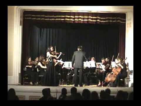 Mozart -Violin Concerto No 3 , violin: Sevil Ulucan, Cond. Özcan Sönmez