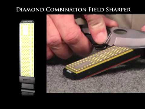 Smiths 4in Diamond Sharpening Stone Coarse