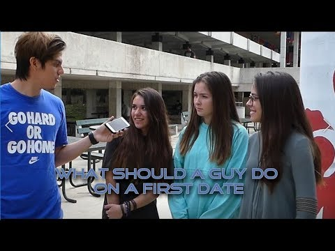 What Should A Guy Do On a First Date? MDC 2018