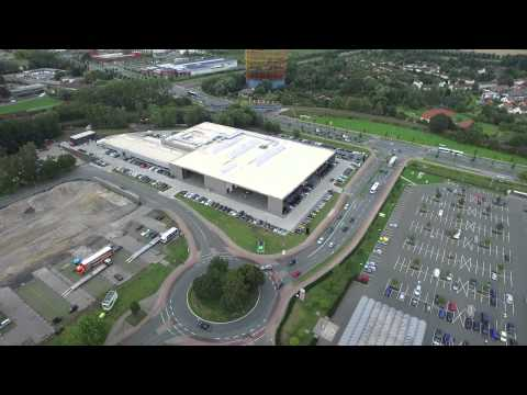 beresa neubau in m nster im zeitraffer youtube. Black Bedroom Furniture Sets. Home Design Ideas