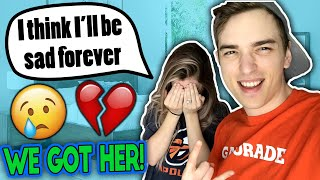 Pranking My Girlfriend So Hard She CRIES!