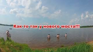 Карьер у нового моста 2018 г.Киров