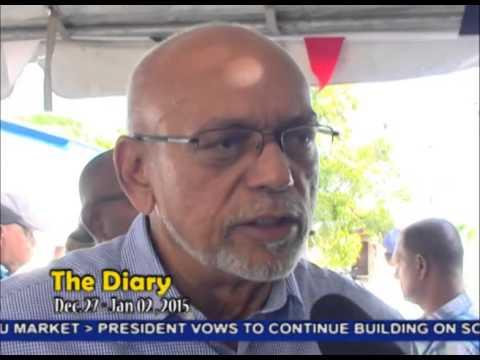 The Diary Dec  27, 2014 - Jan 2, 2015