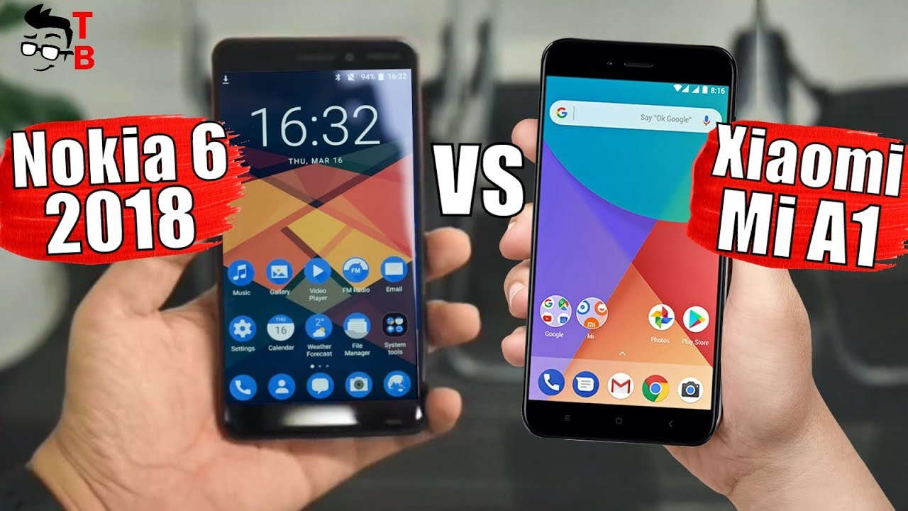 Nokia 6 (2018) vs Xiaomi Mi A1: Which is the Best Mid