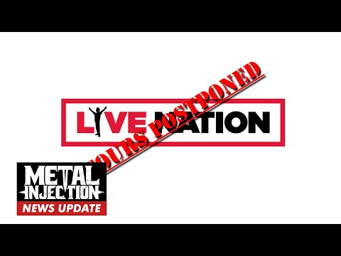 LIVE NATION Pauses Tours Until End Of Month Due To Coronavirus | Metal Injection