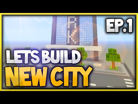 Minecraft Xbox One New City Lets Build - Skyscraper (Episode 1)