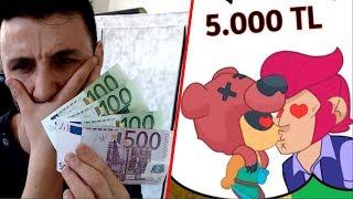 GÜLERSEM 800 EURO YIRTARIM! (5.000TL) Brawl Stars Animasyon