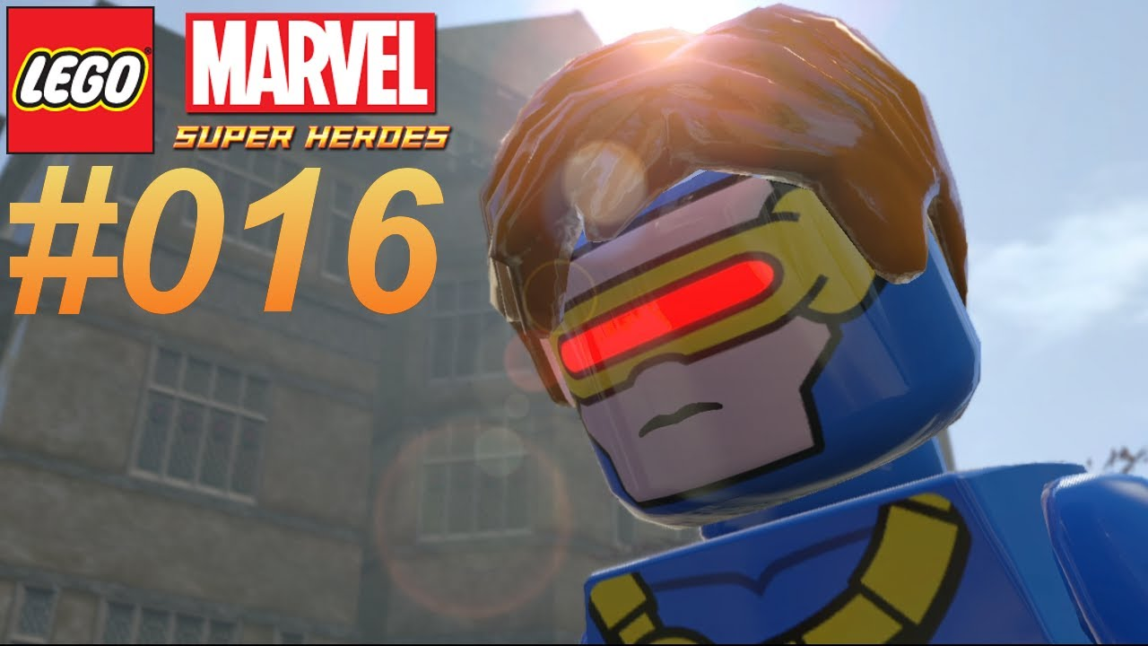 lego marvel super heroes 016 cyclops � lets play lego