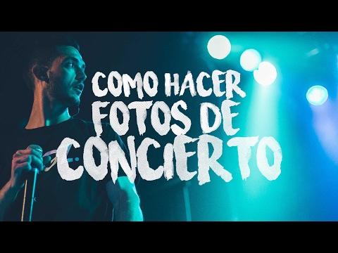 CÓMO HACER FOTOS DE CONCIERTOS | PARTE 1