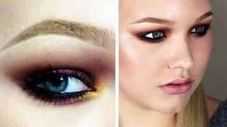 colorful fall look - makeup tutorial