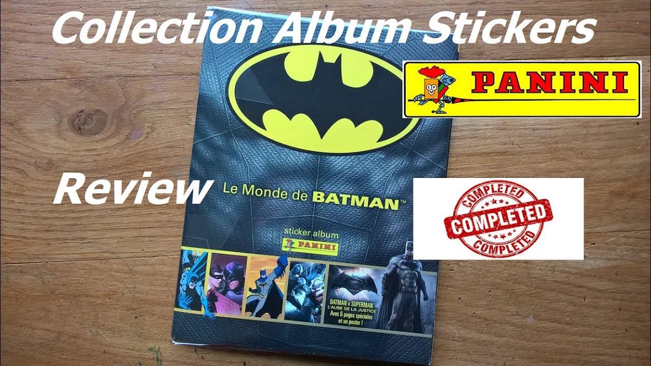 The World Of Batman Sticker Starter Pack