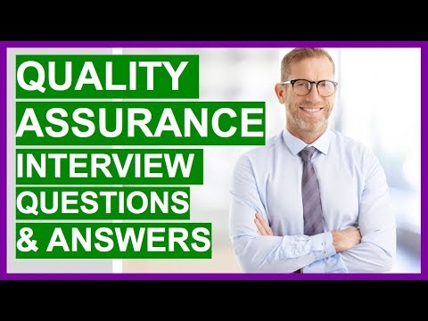 QUALITY ASSURANCE Interview Questions And Answers! (QA Interview Questions)