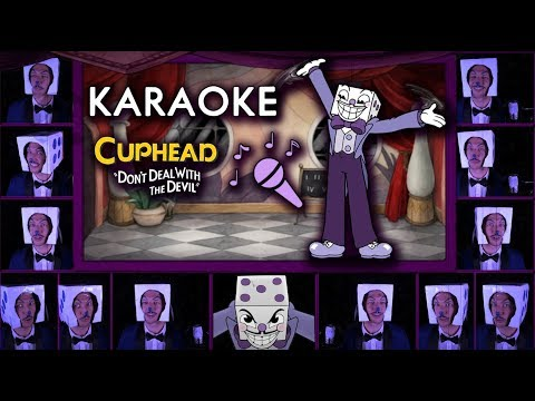 "CUPHEAD ""Die House"" KARAOKE  Acapella (Mr. King Dice Main Theme)  Sing along w/ LYRICS"