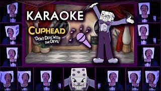 "CUPHEAD ""Die House"" KARAOKE Acapella (Mr. King Dice Main Theme) Sing along w/ LYRICS"
