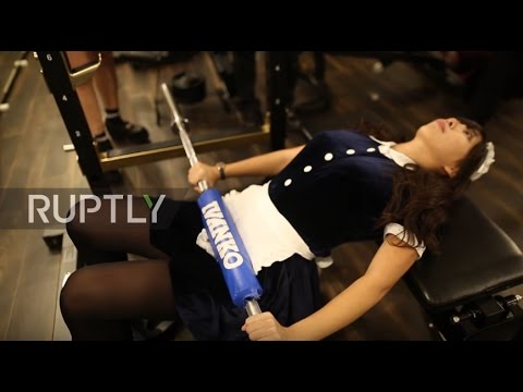 Japan: Train with maids instead of macho men at this Tokyo gym