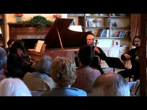 SPQ with Victoria  Schwartzman  Faure  Piano Quartet op.15, 3 mov