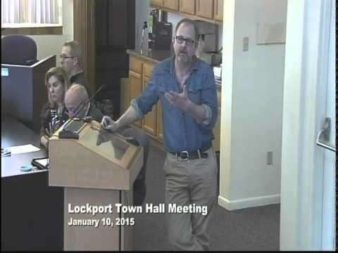 City of Lockport, IL Town Hall 1/10/15
