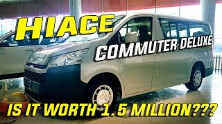2019 Toyota Hiace Commuter Deluxe MT -Toyota's 15 seater hauler -In depth tour/review -Philippines