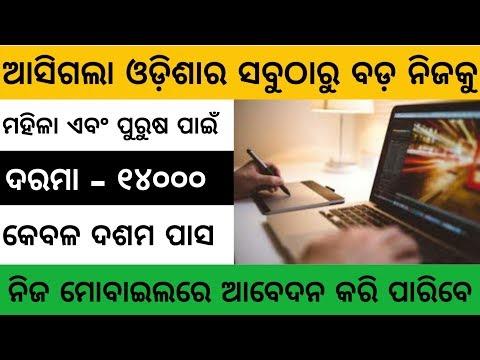 Office Assistant Recruitment 2019 | Odisha Private Job | Odisha Job 2019