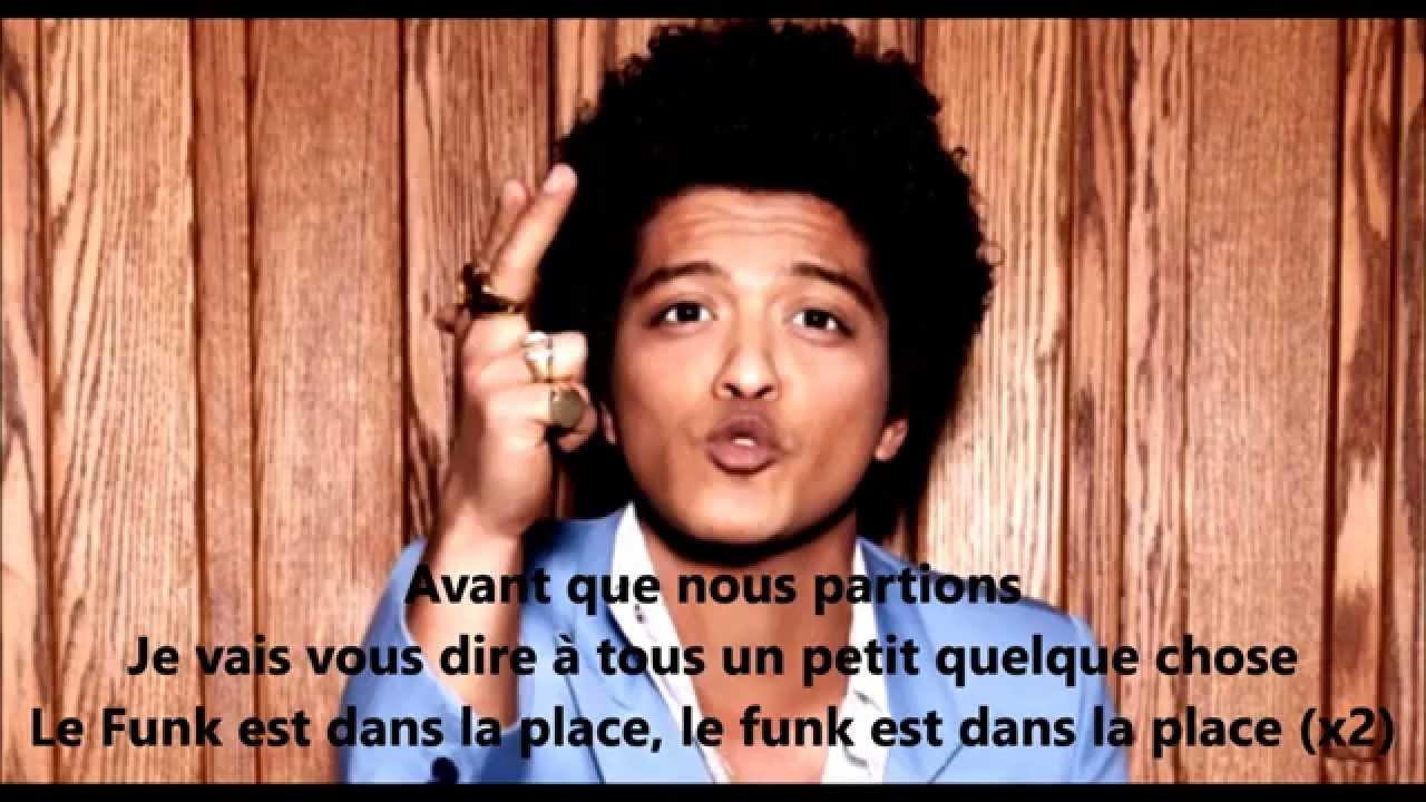 Traduction et lyrics de Uptown Funk de Mark Ronson et Bruno Mars ...