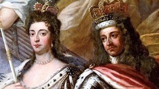 "King William III ""William of Orange"" (1650-1702) & Queen Mary II (1662-1694)"