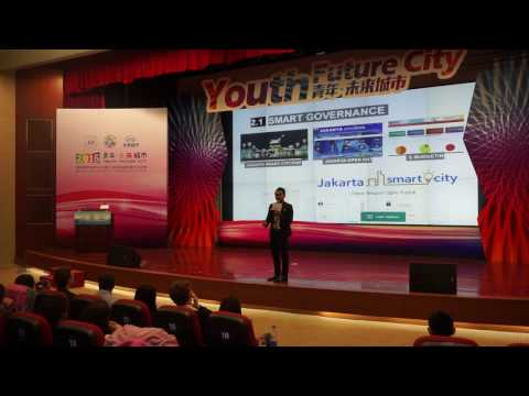Presenting about Jakarta Smart City in Beijing, China 2017