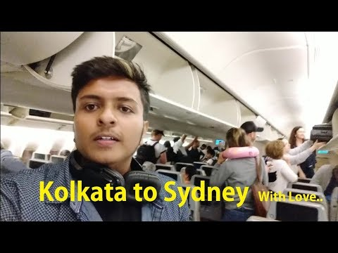 India To Australia || Comedy Vlog In Flight || The Bong Viner
