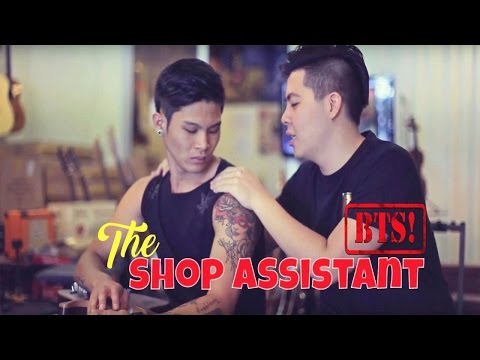 The Shop Assistant (Behind The Scenes)