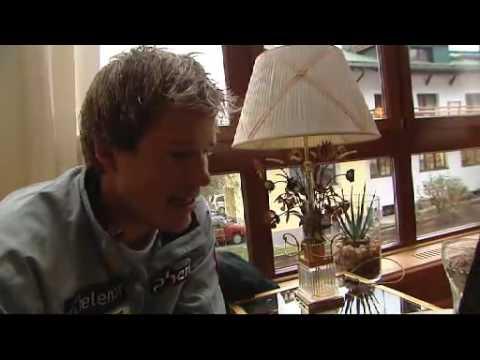 Kjetil Jansrud interview after Michal Jackson dance tribute