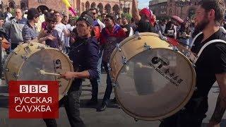 """""""Люди ждали этого 10 лет"""": ликование в Ереване после отставки Саргсяна"""