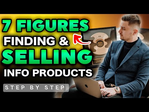 How To CREATE & SELL Info Products In 2020   7 FIGURE INCOME WITH DIGITAL PRODUCTS ALONE!!